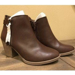 SM New York Jameson Brown Ankle Bootie